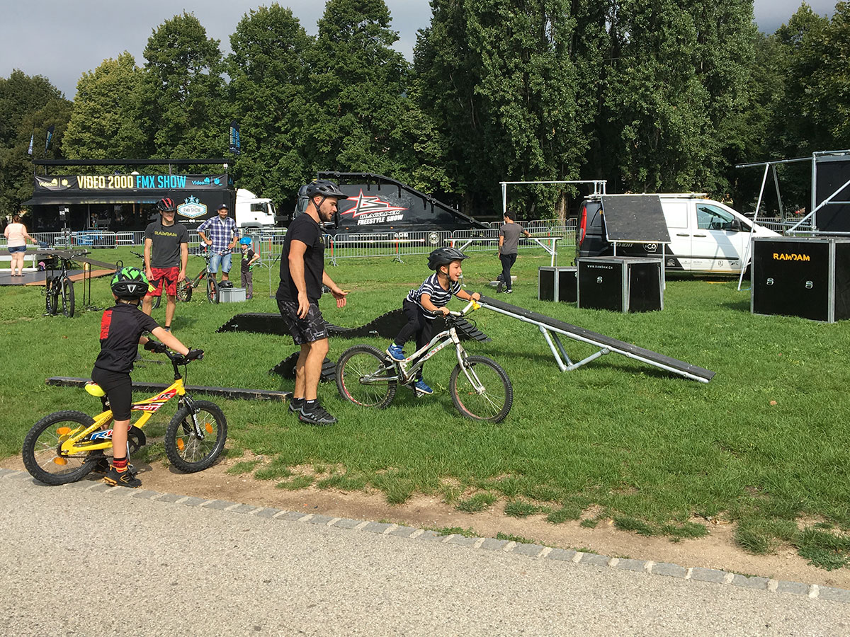 initiations bike, vtt, trial et bmx du team Ramdam