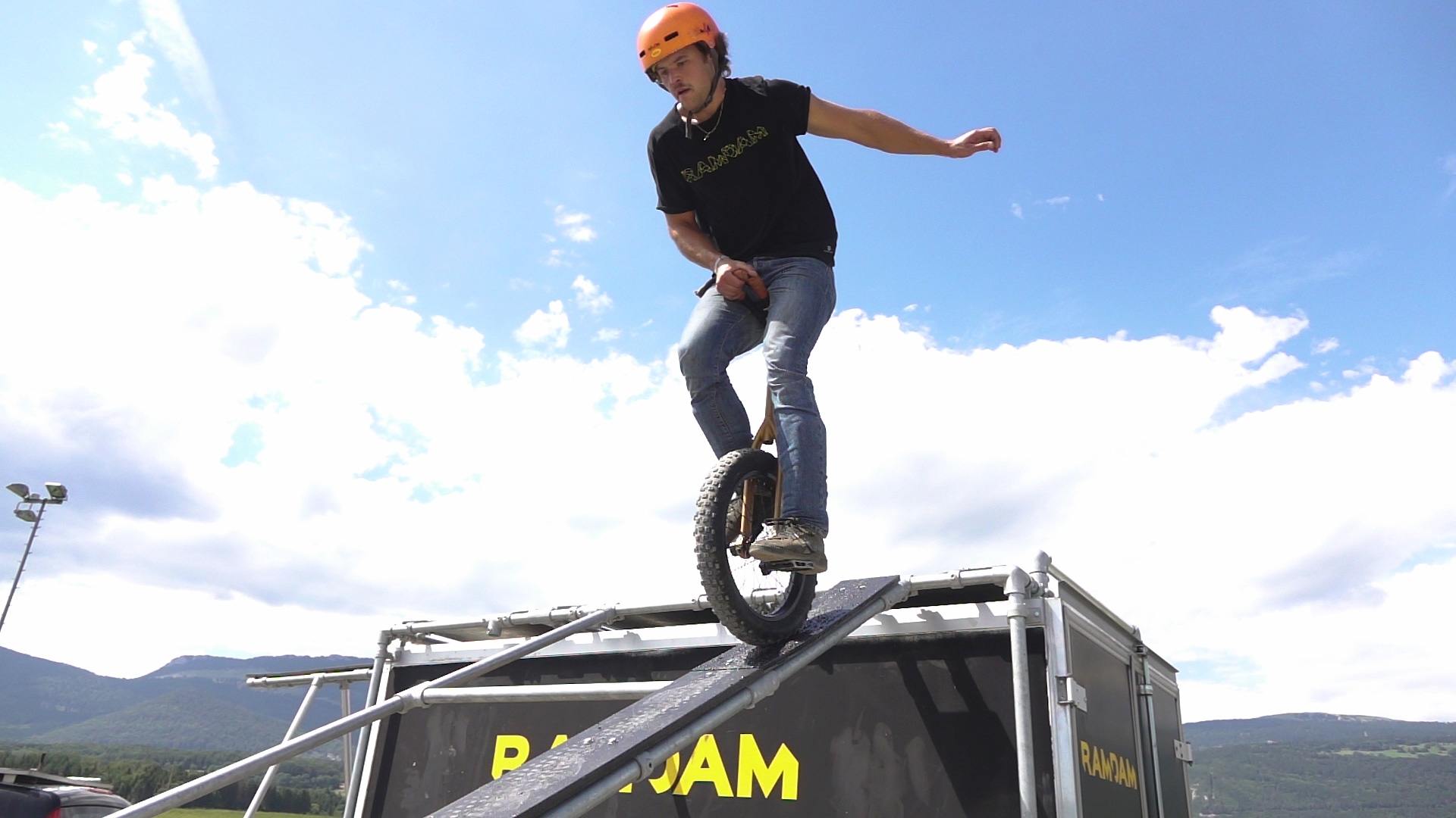 monocycle trial flat freestyle champvent ramdam pierre sturny